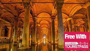 the basilica cistern guided tour