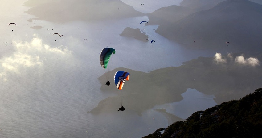 Paragliding Experience From Side