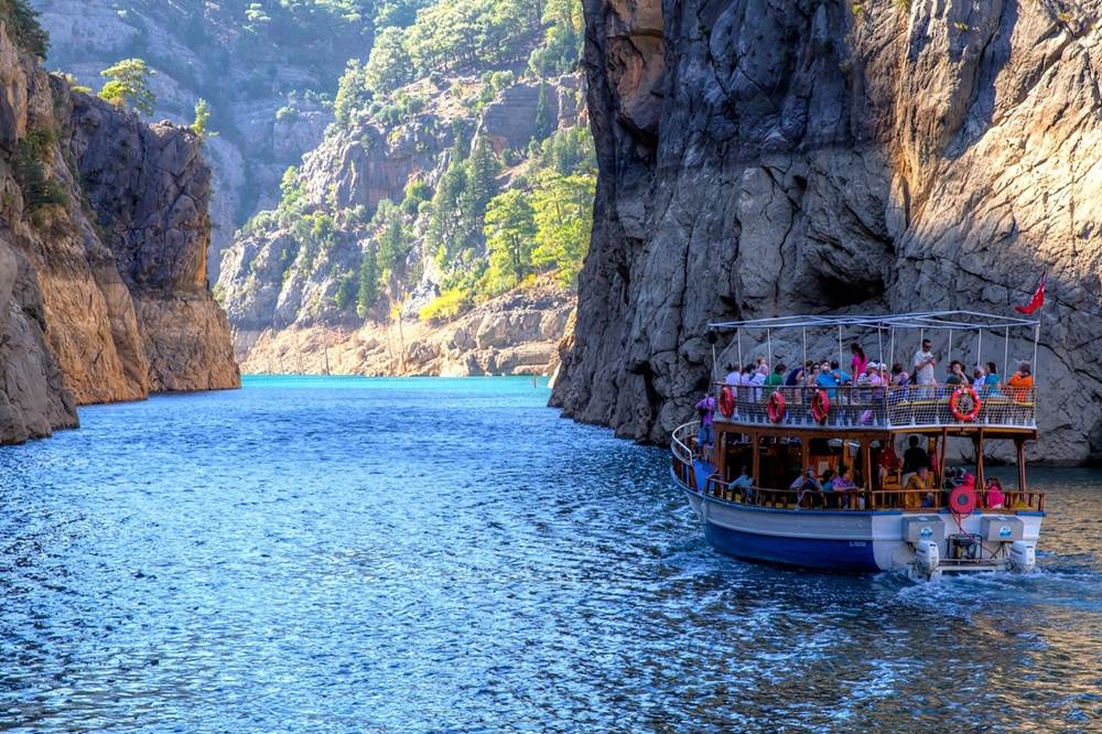 Antalya Green Canyon Boat Trip