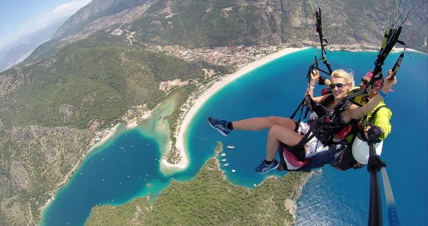 Fethiye Paragliding from Bodrum
