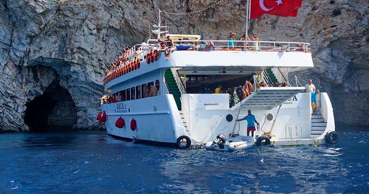 Icmeler Dalyan Boat Trip