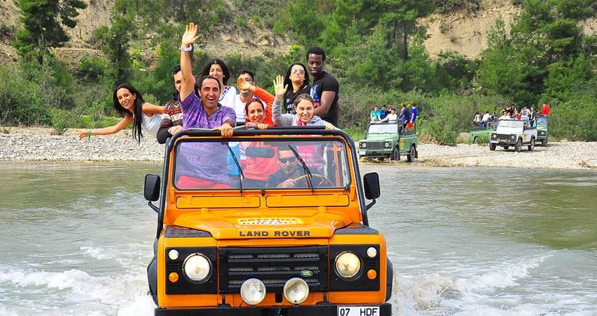 kusadasi jeep safari boat trip tour
