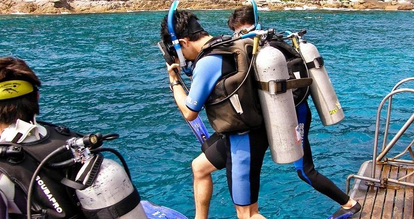 Side Diving Tour