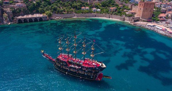 Side Pirate Boat Trip