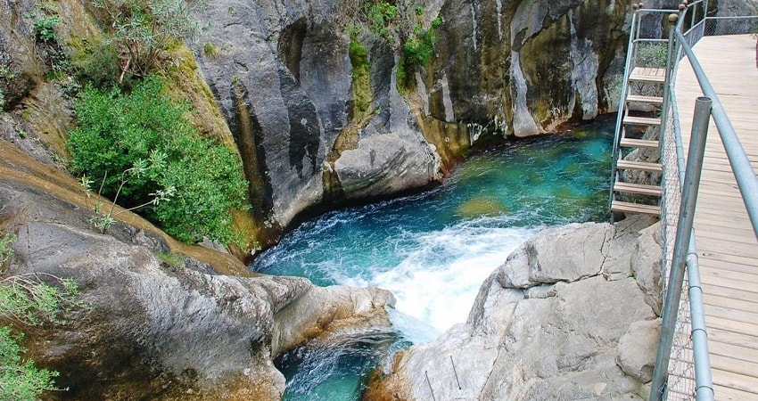 Side Sapadere Canyon Tour