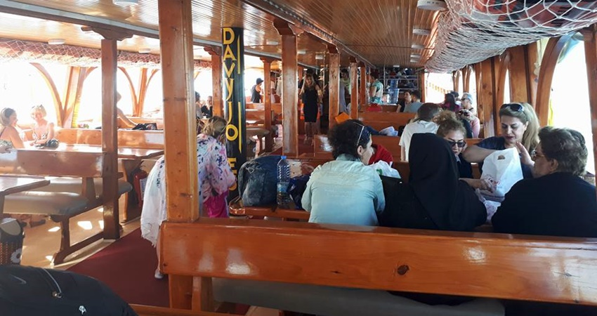 Turunc Pirate Boat Trip