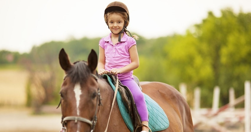 Side Horse Riding