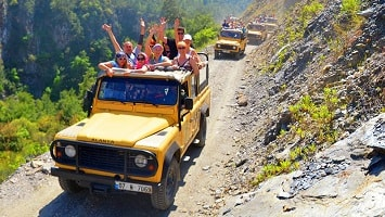 Side Jeep Safari