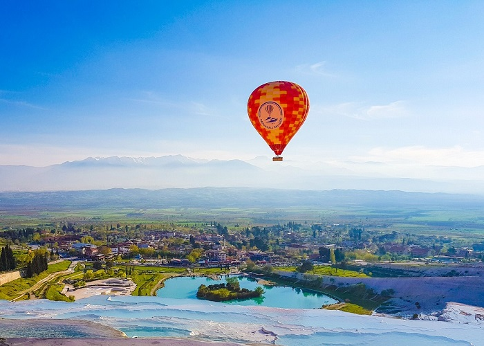 My Pamukkale Hot Air Balloon Ride