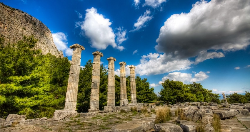 Priene Miletos Didyma From Izmir
