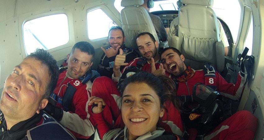 Skydiving in Turkey