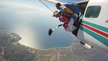 Skydiving in Turkey