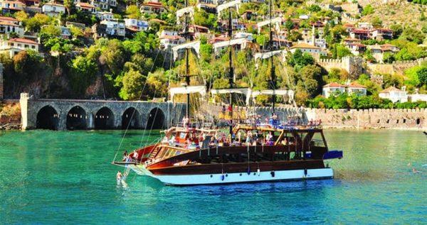 Alanya Boat Trip