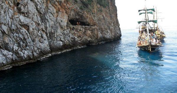 Alanya Pirate Boat Trip