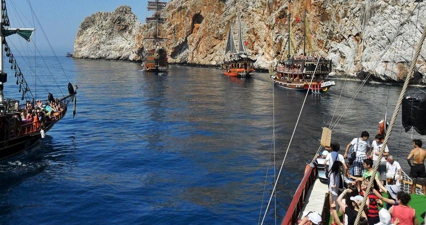 kas boat trip