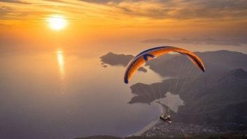kas paragliding tour