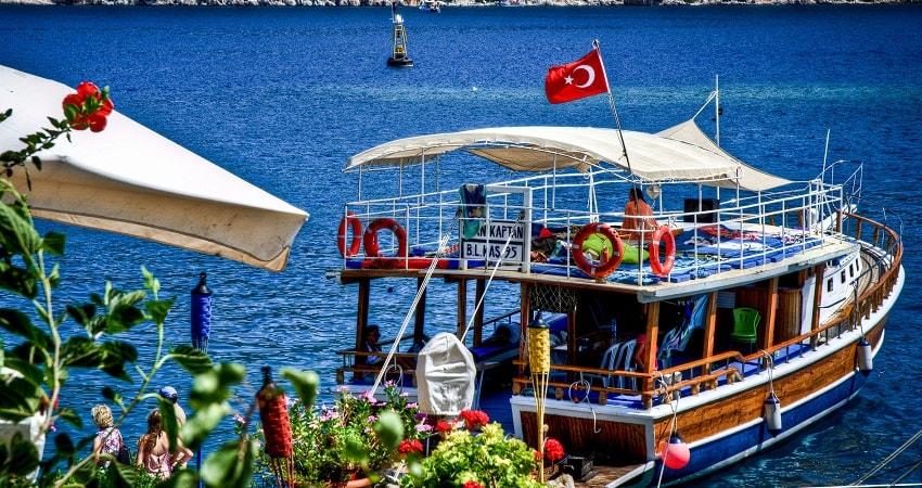 kalkan kekova boat trip