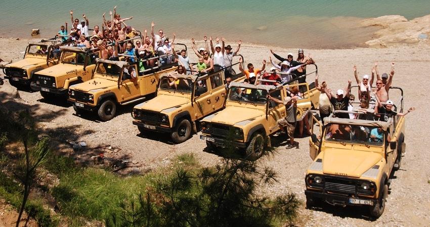 Alanya Green Canyon Jeep Safari