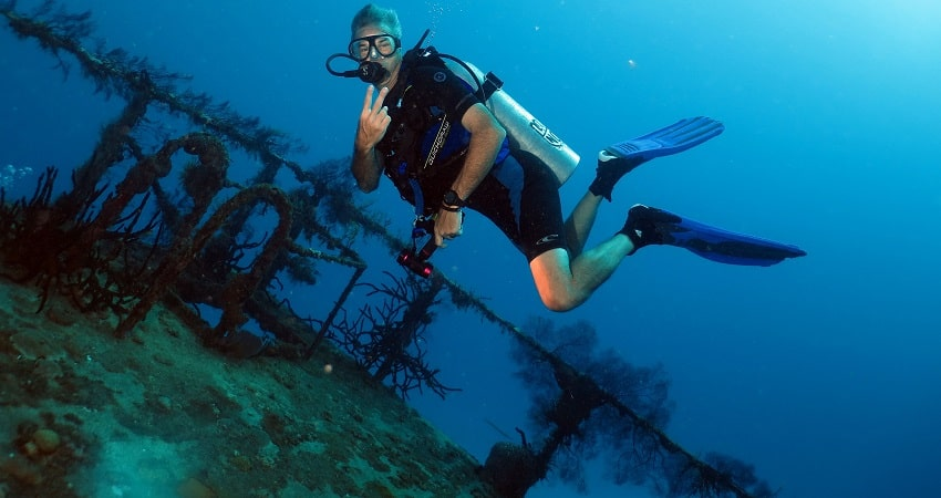 Kas Diving Tour