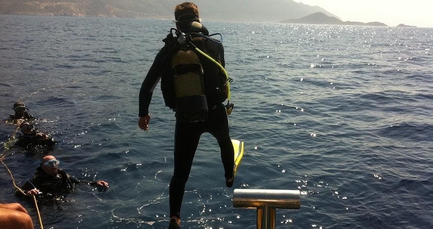 Kas Diving Tour