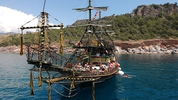 Kemer Pirate Boat Tour
