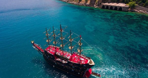 Kemer Pirate Boat Tour