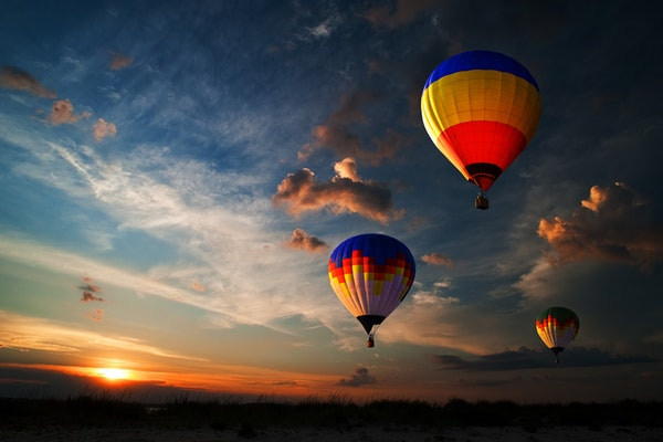 Hot air balloon ride in Pamukkale or Cappadocia