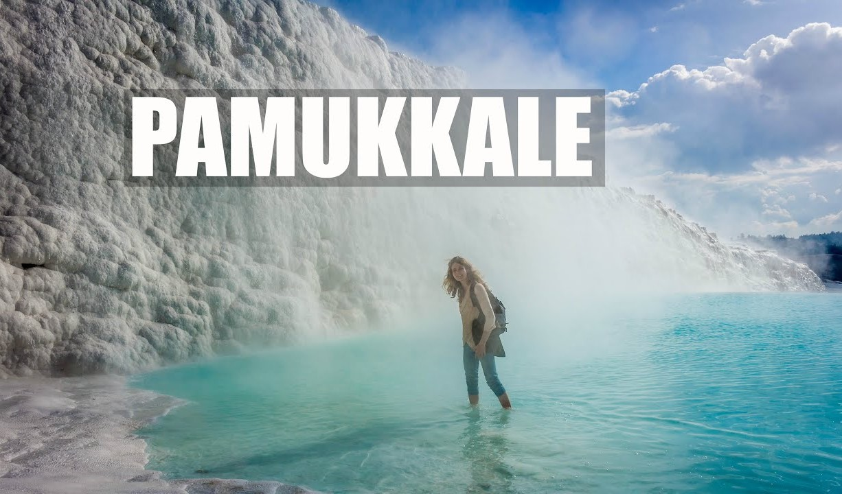 Why is Pamukkale white?