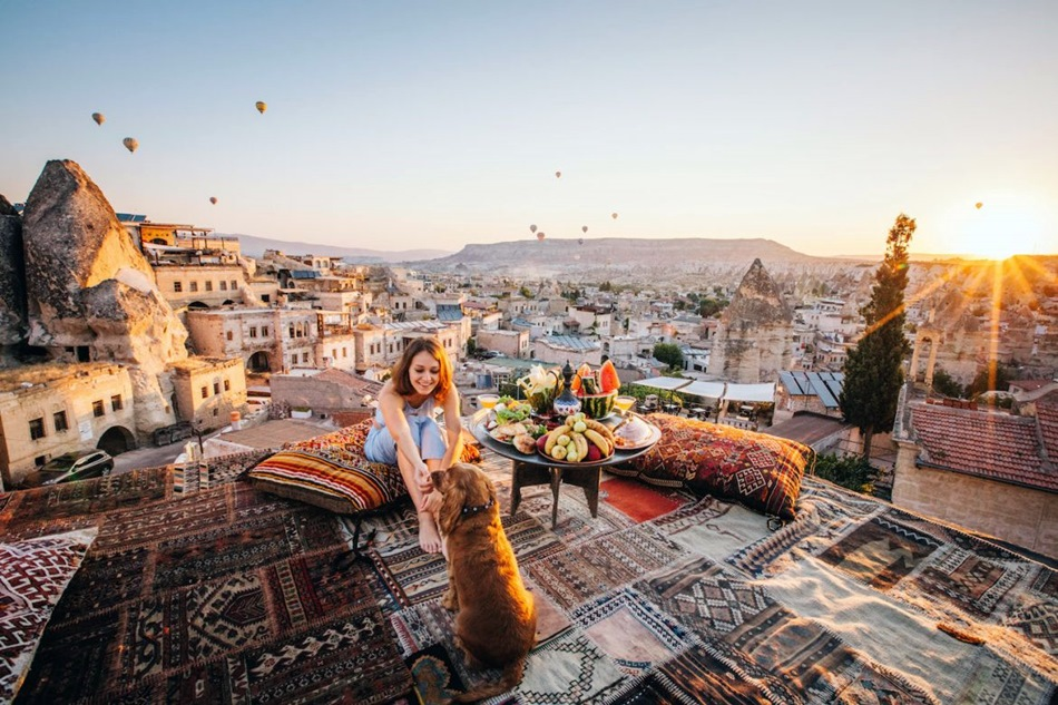 What is Cappadocia famous for
