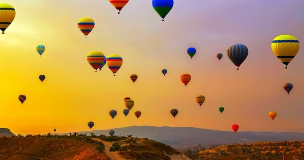 cappadocia sunrise hot air balloon watching tour