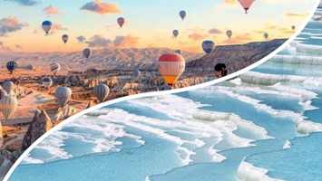 Cappadocia and Pamukkale 3Days Tour From Istanbul
