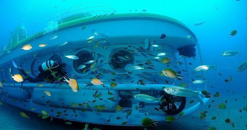 antalya submarine tour