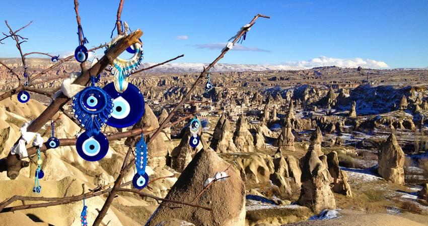 blue and white turkey tour