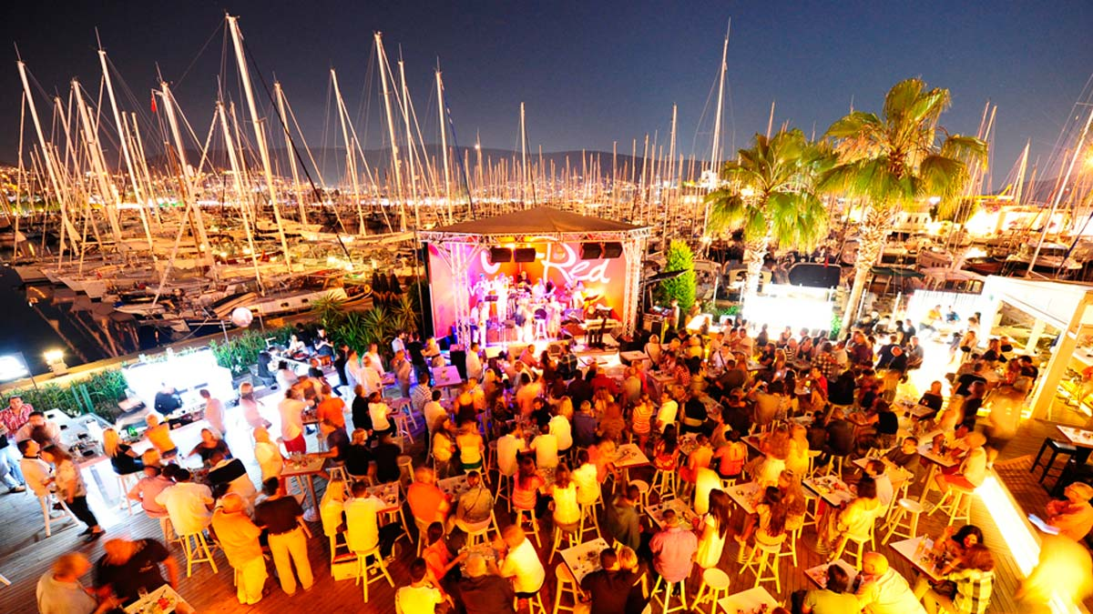 Is Bodrum a party place