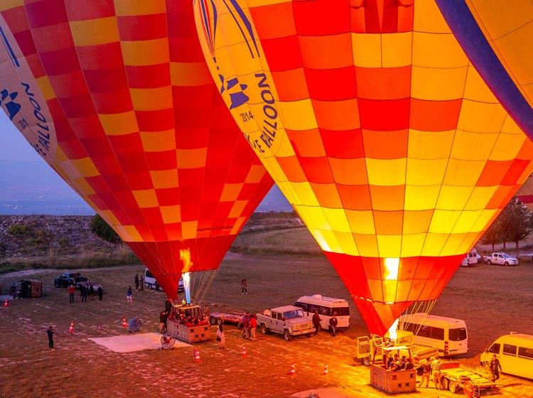 Icmeler Hot Air Balloon Tour