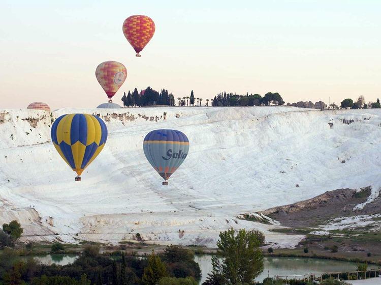 Pamukkale Private Balloon Tour