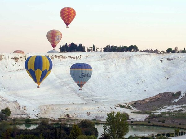 Icmeler Hot Air Balloon Tour