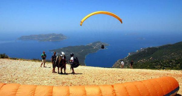 antalya tandem paragliding