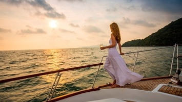 bodrum private sunset boat cruise