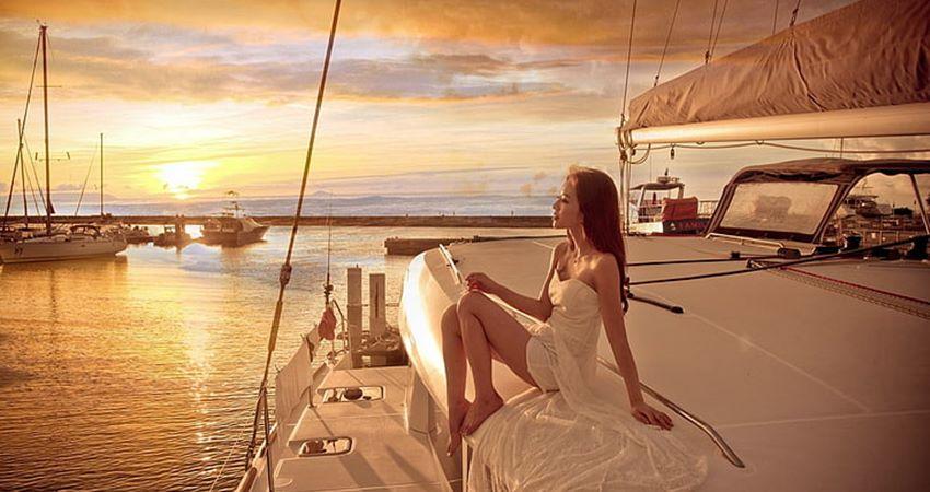 bodrum private sunset boat cruise