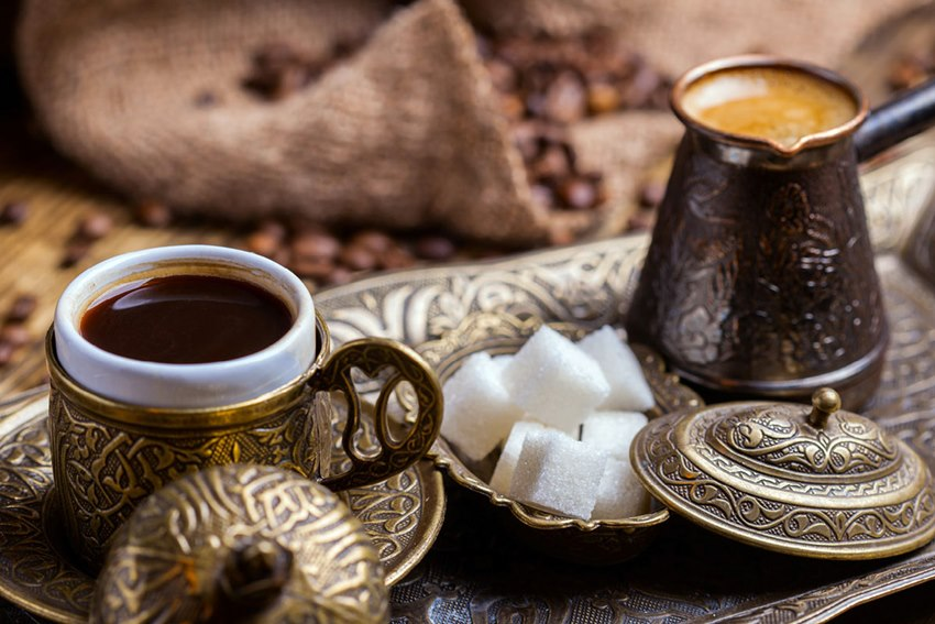 How much is a cup of coffee in Turkey