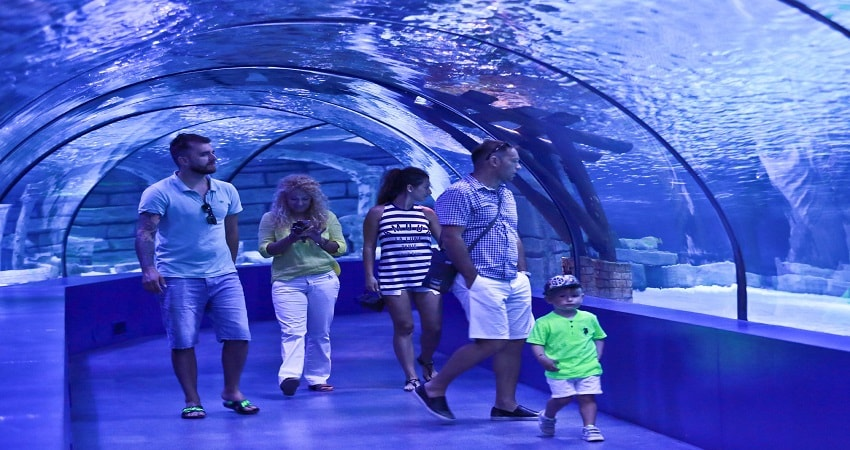 Antalya Aquarium From Belek
