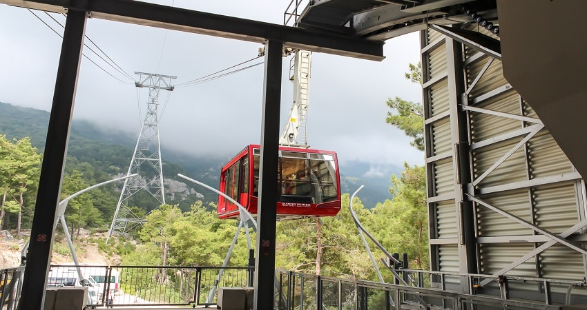 Olympos Cable Car Tour From Belek