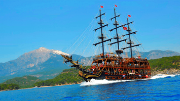 Antalya Pirate Boat Trip