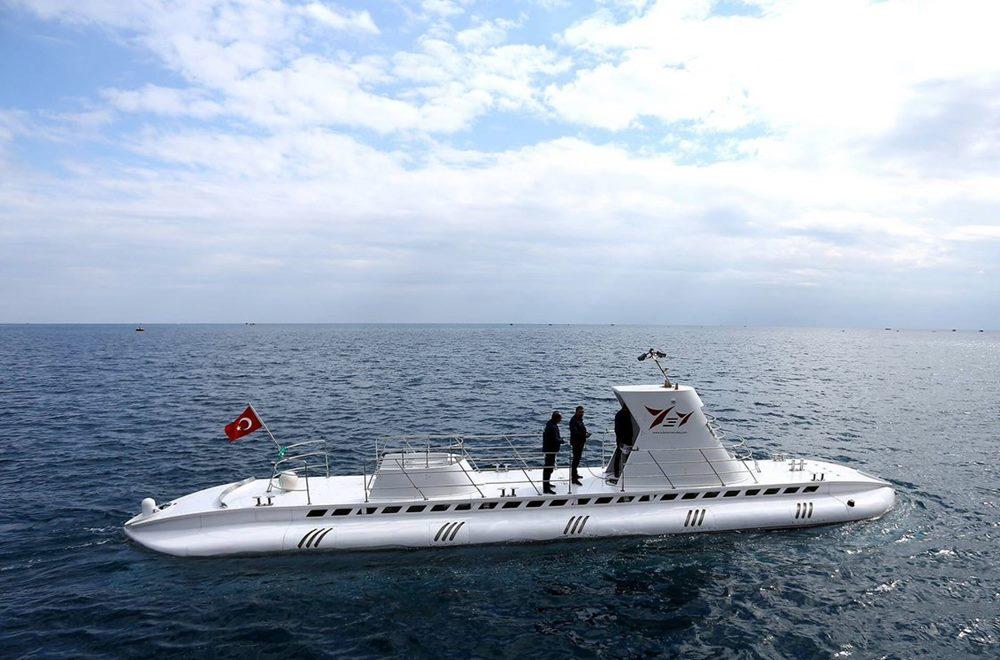 belek submarine tour