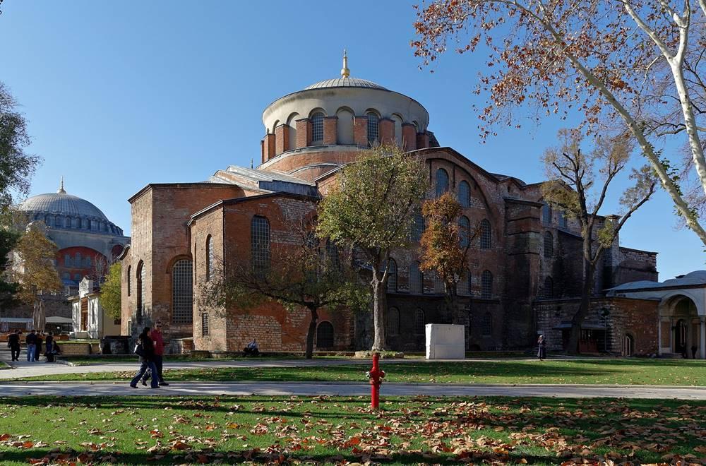 hagia irene museum guided tour