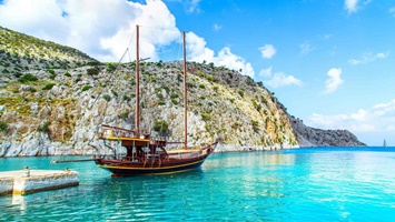 private boat hire in turkey