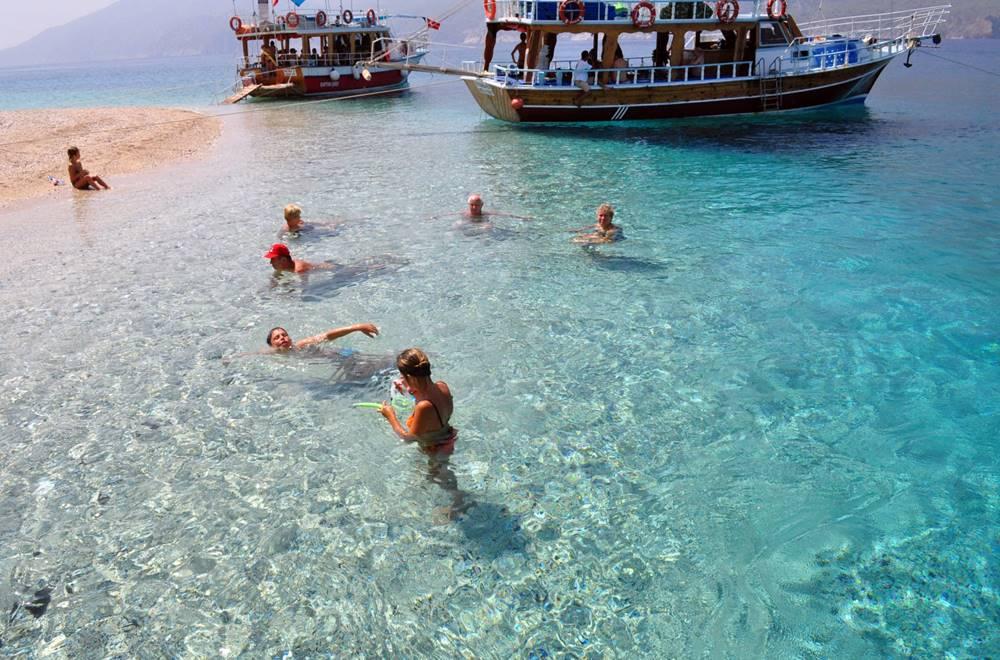 olympos boat trip