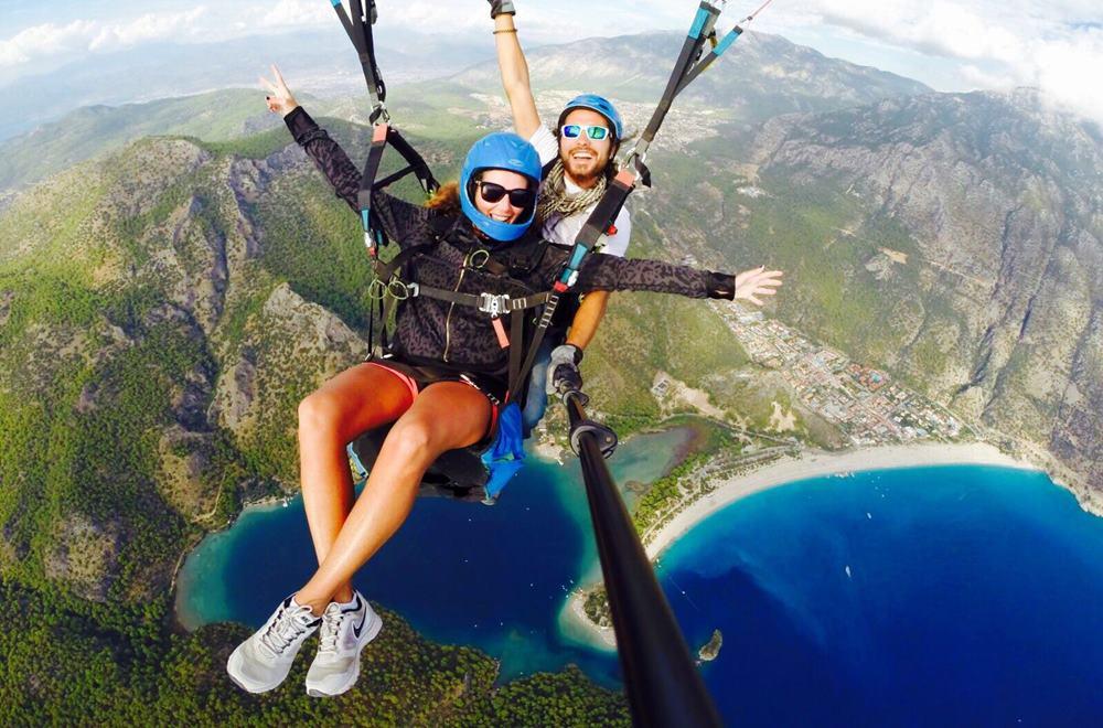 fethiye paragliding from kusadasi