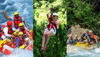 Antalya Rafting & Zipline Tour